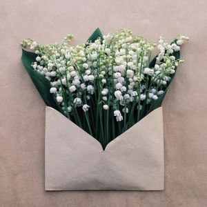 flower envelope.